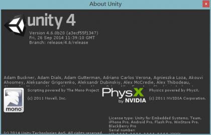 Unity3D 4.6.0的一些IDE BUG 持续更新中